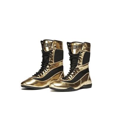 CL101 - Botas de pugilismo Legend - ouro