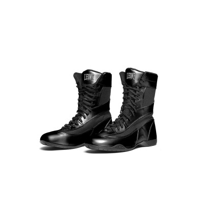 CL101 - Botas de pugilismo Legend - preto